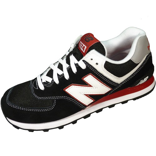 new balance 574 schwarz rot new balance womens shoes. Black Bedroom Furniture Sets. Home Design Ideas