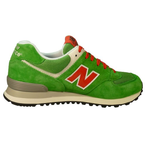 New Balance Ml574 Grün Rot