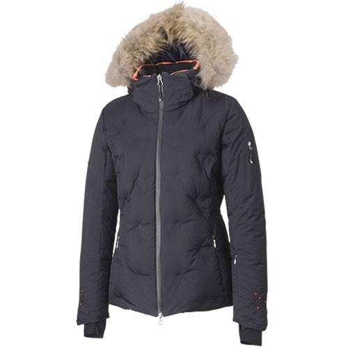 phenix rose jacket damen skijacke daunen schwarz 2013 2014 ebay. Black Bedroom Furniture Sets. Home Design Ideas