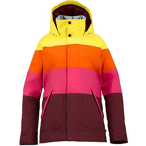 burton damen jet set jacket snowboardjacke sangria l. Black Bedroom Furniture Sets. Home Design Ideas