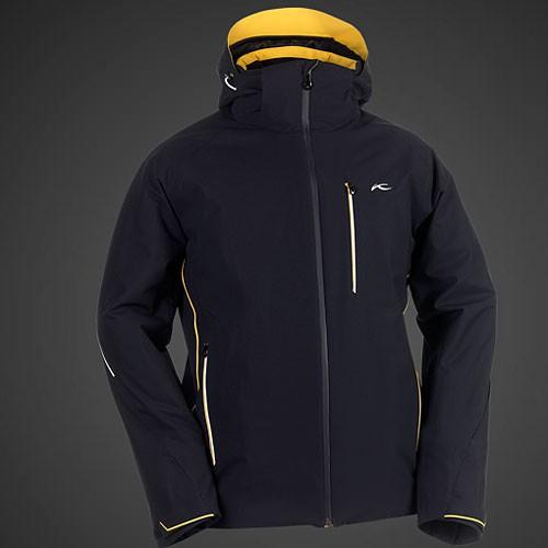 kjus men sound barrier jacket skijacke herren blau 54. Black Bedroom Furniture Sets. Home Design Ideas