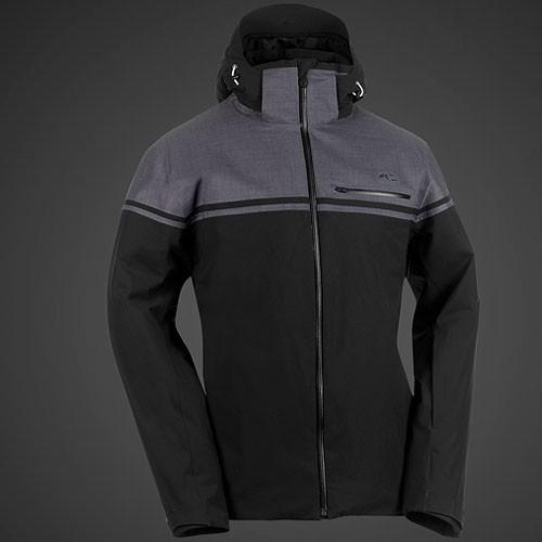 kjus men white shadow jacket skijacke herren schwarz 2013. Black Bedroom Furniture Sets. Home Design Ideas