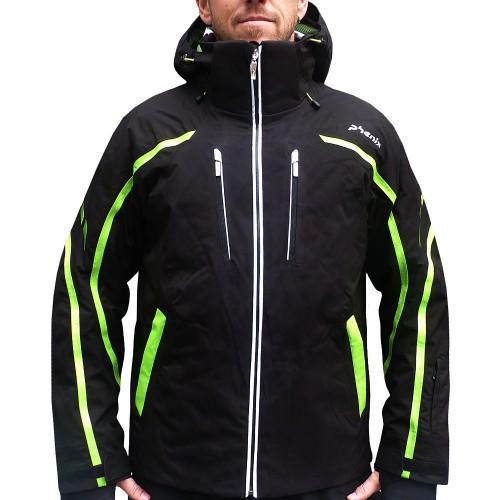 phenix neo lightning jacket skijacke herren schwarz gr n. Black Bedroom Furniture Sets. Home Design Ideas