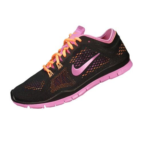 Nike Free 5.0 Damen Schwarz Pink Weiß