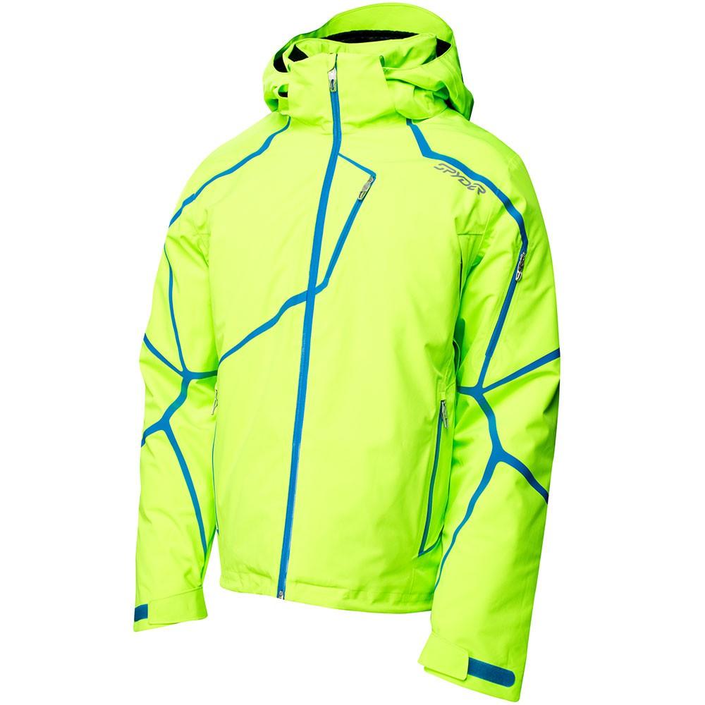 spyder esper jacket herren skijacke bright green neon. Black Bedroom Furniture Sets. Home Design Ideas