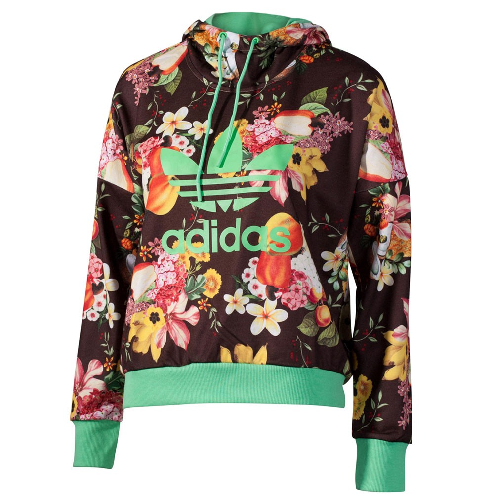 adidas jardim hoodie damen kapuzenpulli multicolor ebay. Black Bedroom Furniture Sets. Home Design Ideas