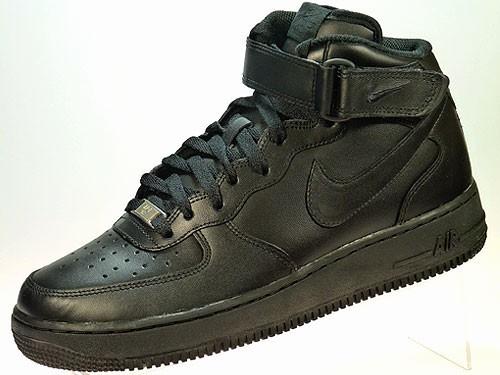 Air Force 1 MID `07 High-Top Sneaker schwarz