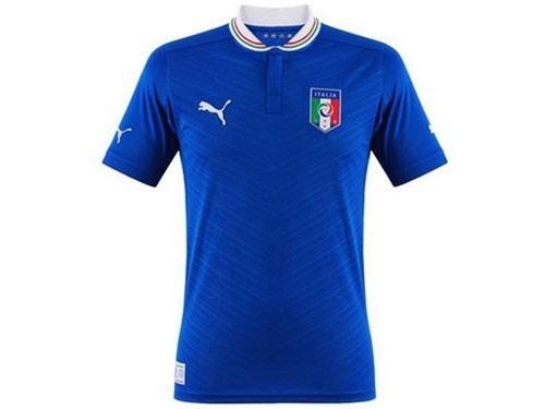 Italien Trikot Kinder EM 2012 blau Home