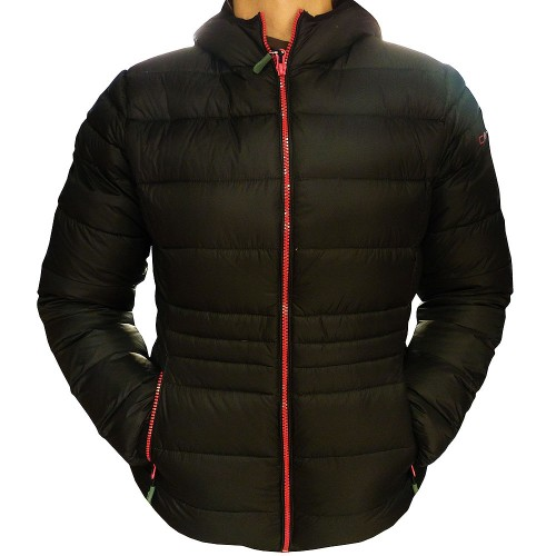 Campagnolo Damen Daunenjacke schwarz ultraleicht Winterjacke
