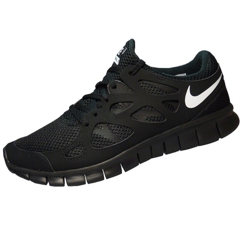 Nike Free Run 2.0 Schwarz Damen