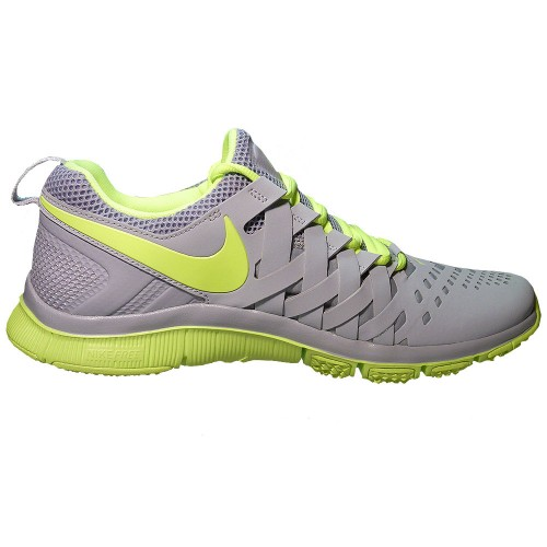 nike free trainer 5 0 trainingsschuh herren grau neon. Black Bedroom Furniture Sets. Home Design Ideas
