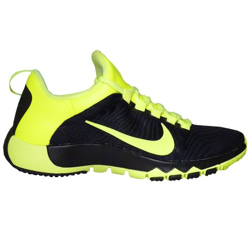 Nike Free Schwarz Gelb Herren