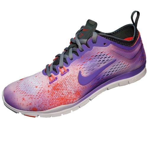 Nike Free 5.0 Damen Lila Blau