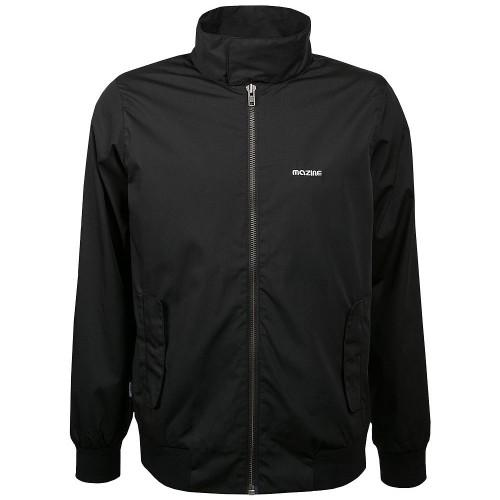mazine champ jacket herren freizeitjacke schwarz. Black Bedroom Furniture Sets. Home Design Ideas
