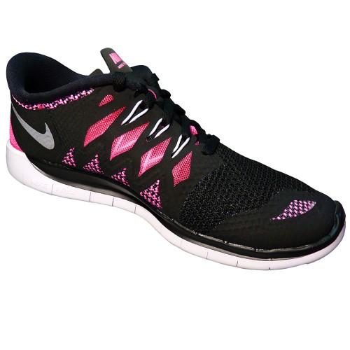 Nike Free 5.0 Damen Schwarz Pink