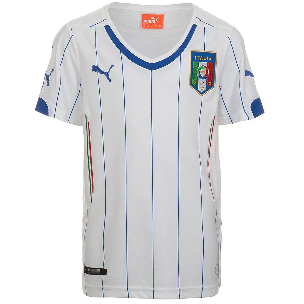 Italien Away Trikot Kinder WM 2014 weiß