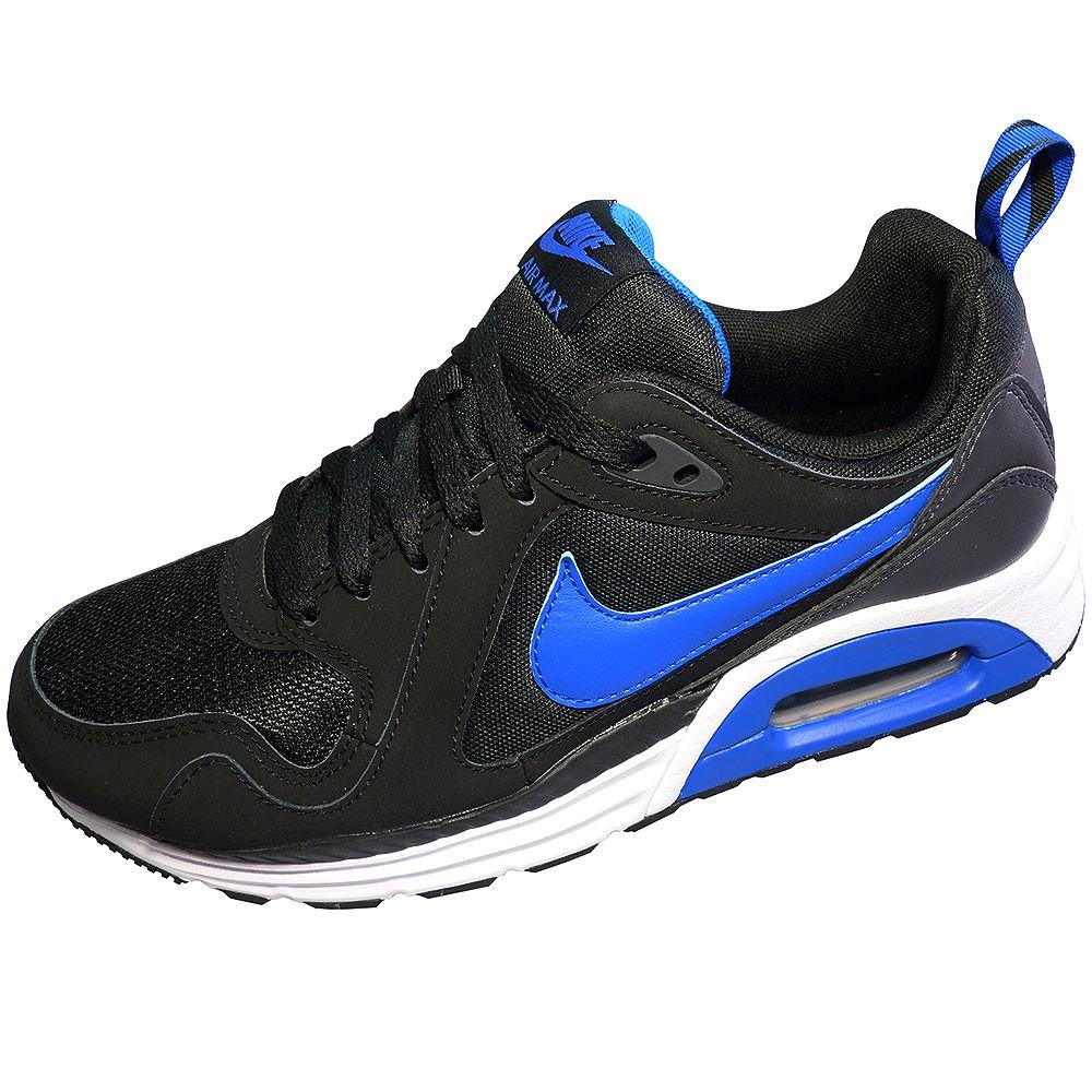 nike air max trax herren sneaker schwarz blau. Black Bedroom Furniture Sets. Home Design Ideas