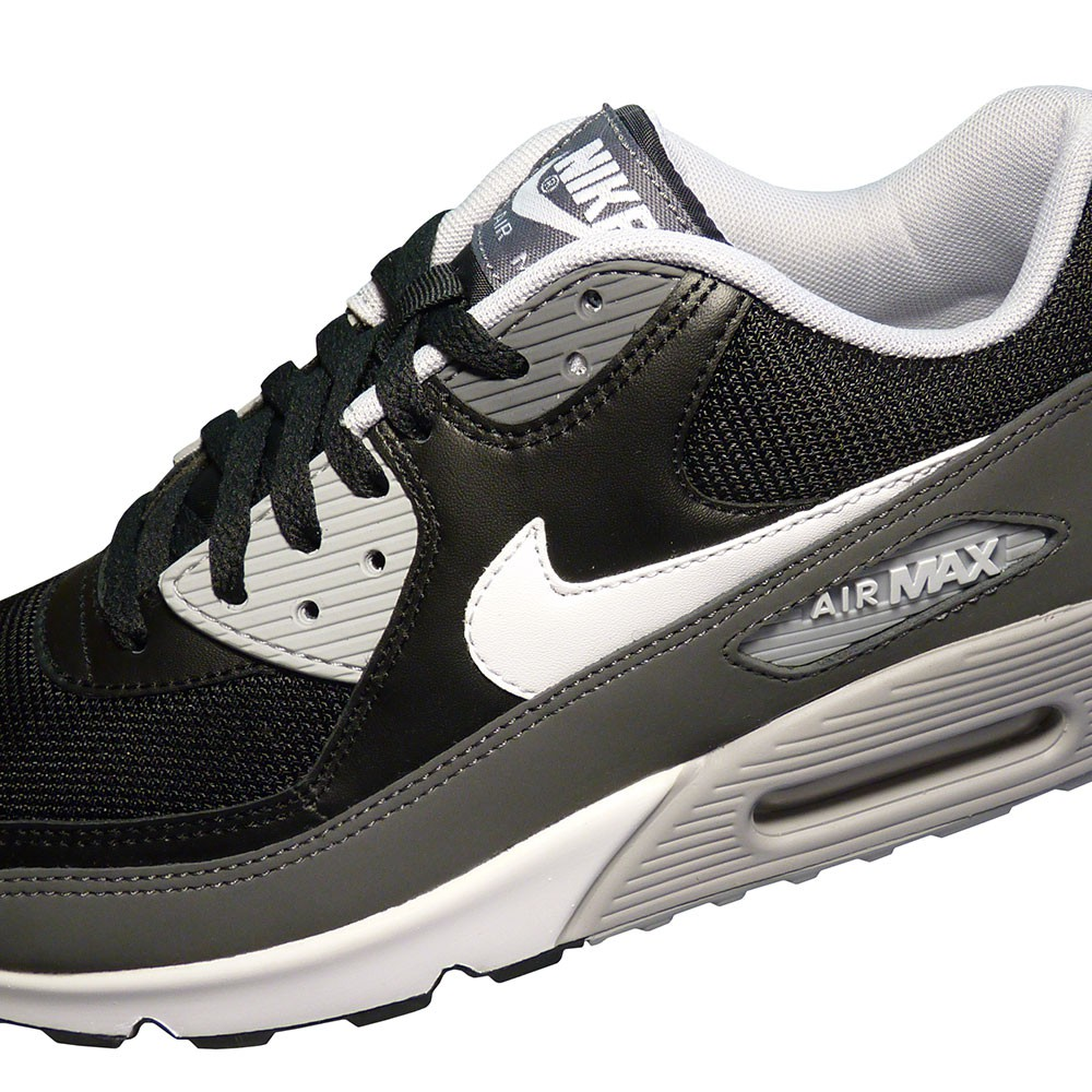 nike air max 90 essential schwarz wei paquet. Black Bedroom Furniture Sets. Home Design Ideas