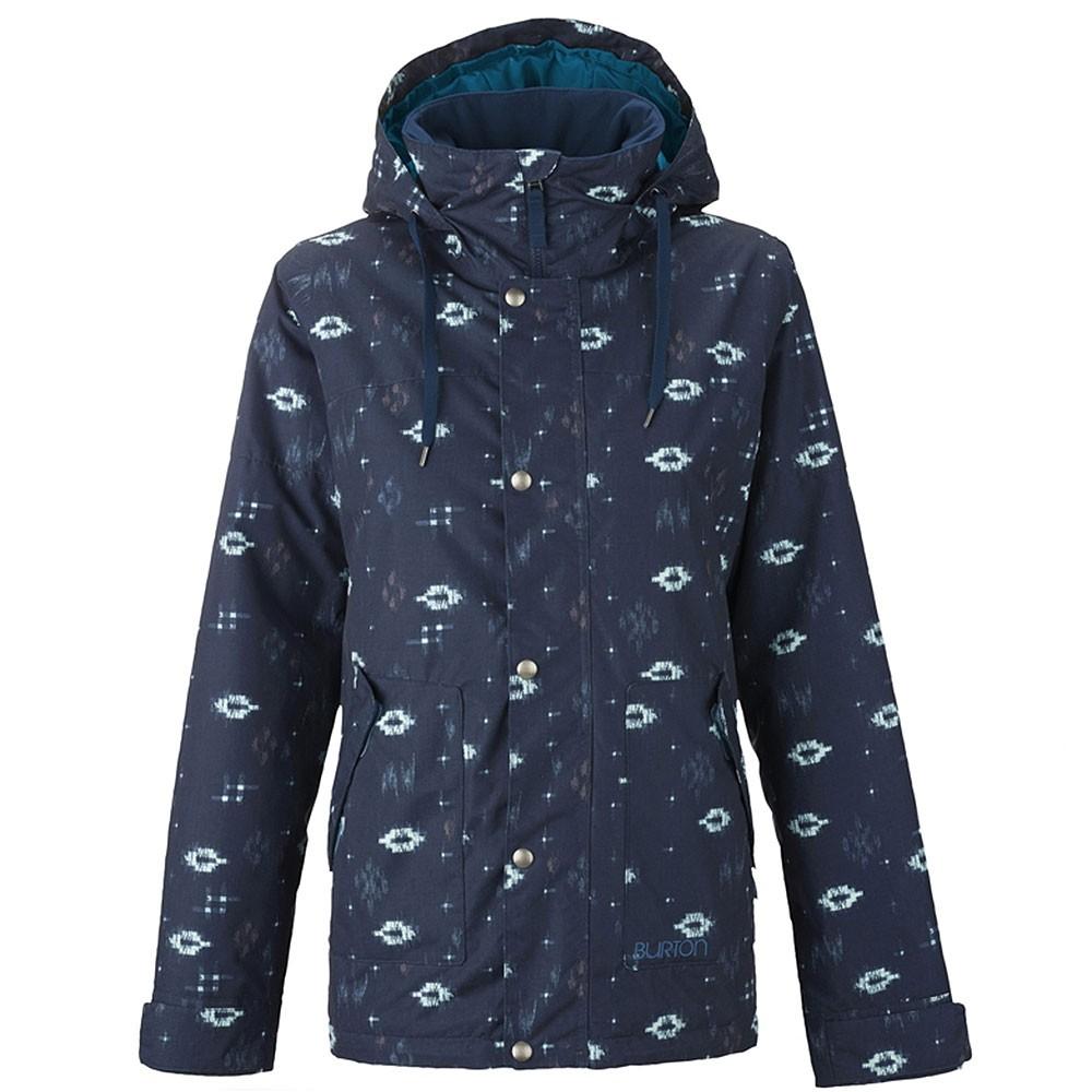 Ginger Jacket Damen Ski Snowboardjacke blau