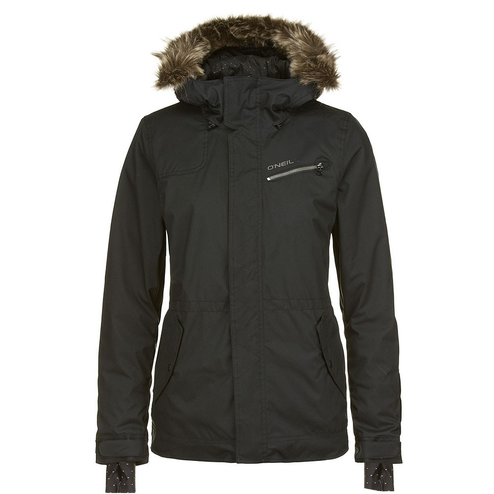 o 39 neill socialite jacket damen skijacke schwarz