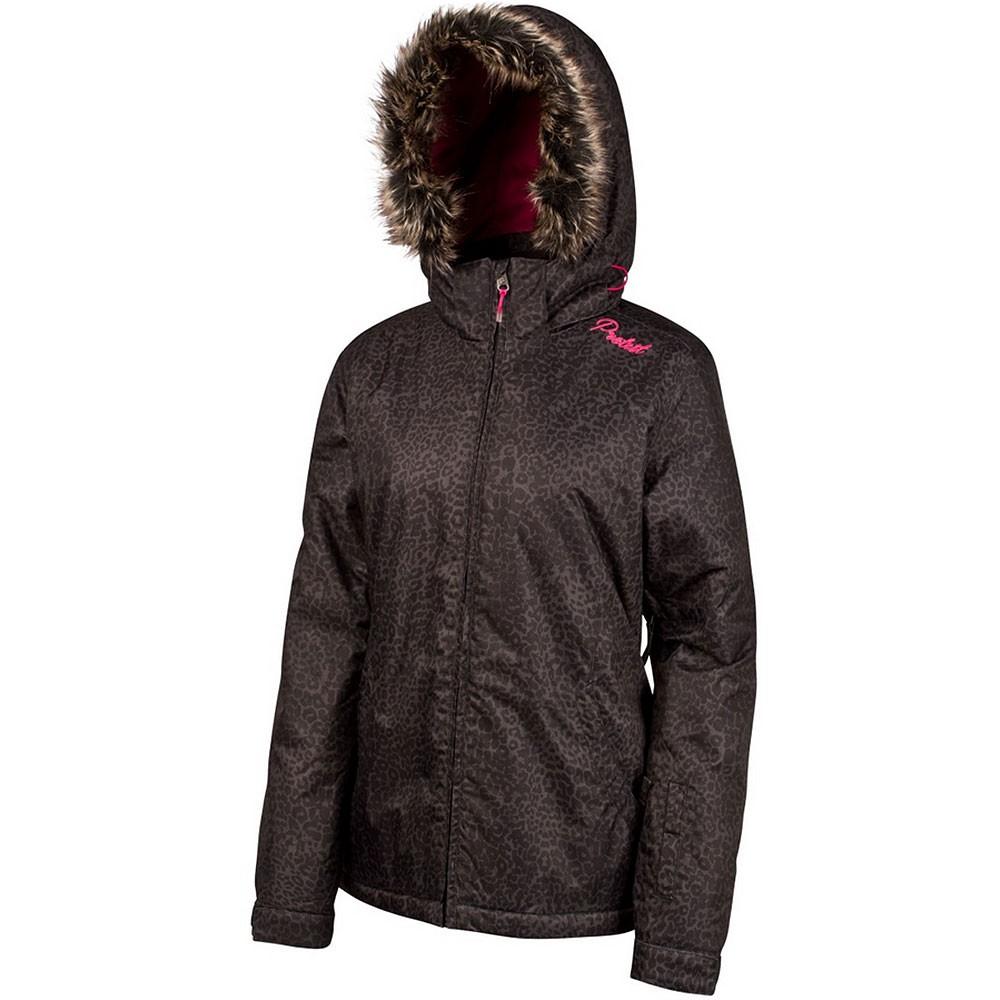 protest selmania jacket damen ski snowboardjacke schwarz grau. Black Bedroom Furniture Sets. Home Design Ideas