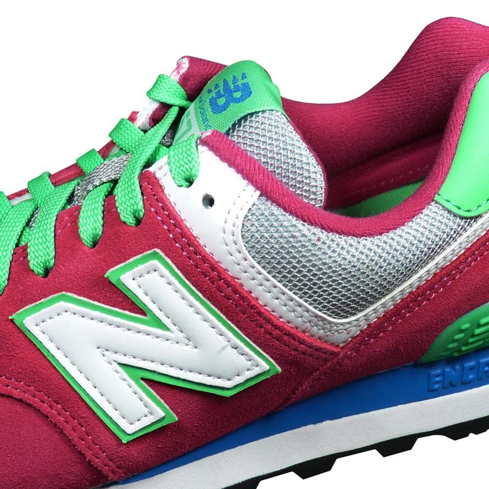New Balance Damen Grün Pink